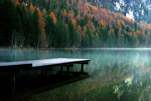 achsen:  Tristachersee by Giorgio___ on Flickr.