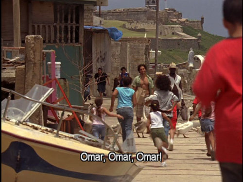 Omar was the toughest mofo around, he lived in La Perla.