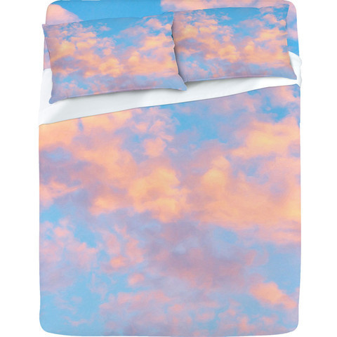 DENY Designs Home Accessories | Lisa Argyropoulos Dream Beyond The Sky Sheet Set on We Heart It. http://weheartit.com/entry/35172389