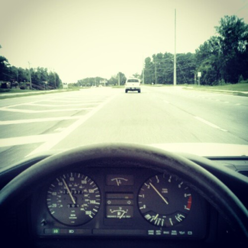 On the road again. #cockpit  (Taken with Instagram)