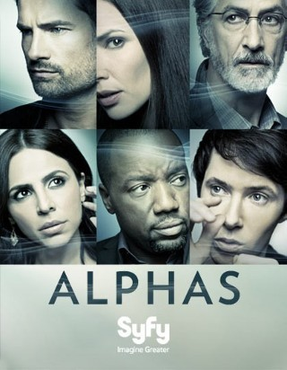 I am watching Alphas                                                  56 others are also watching                       Alphas on GetGlue.com