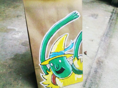 lunchbagart:  Magic Man