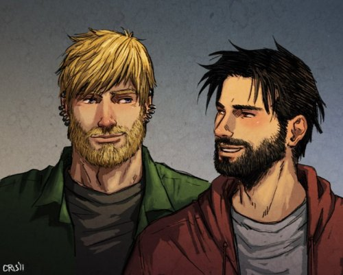rollad20andkissme:  yesyaoiyeah:  Teddy Altman & Billy Kaplan from Young Avengers drawn by Cris-Art Love this one! Teddy looks like a guy that I dated onces… Oh, memories!… rsrs    JESUS LORD