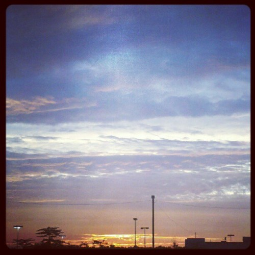 Burning a #hole in the #sky. #photoadayaug #sunset (Taken with Instagram)
