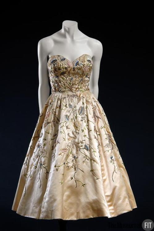 Dress Christian Dior, 1951 The Museum at FIT