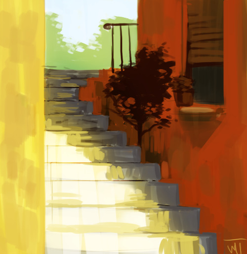 mugenmcfugen:  background practice poop I might as well use a reference next time *slams head on desk* g'night tumblr   Great lighting. I want to go to there.