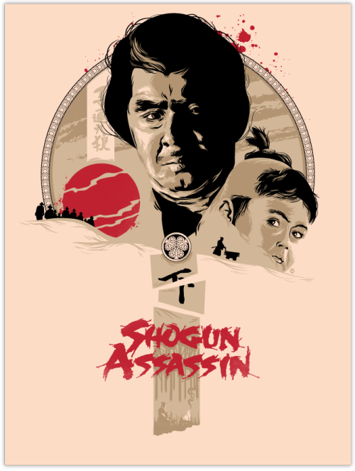 Shogun Assassin by David Moscati / Tumblr
