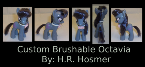 Custom Octavia Brushable by *Gryphyn-Bloodheart http://fav.me/d5arj5z