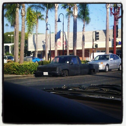 Now that's what you call ridin dirty lol (Taken with Instagram)