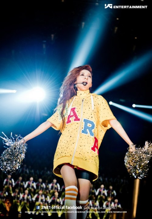 DARA! 2NE1 GLOBAL TOUR 2012 - NEW EVOLUTION @ Prudential Center in Newark, NJ!