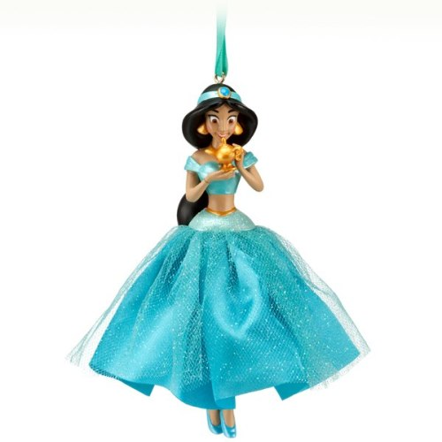 New Princess Jasmine Ornament from The Disney Store. $10.50 US, Available 9/17