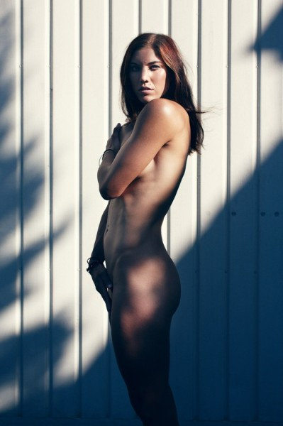 conspiracy-againstme:  Dear tumblr, I'm crushing hard on Hope Solo. Yours, Jenn  I just melted into myself.