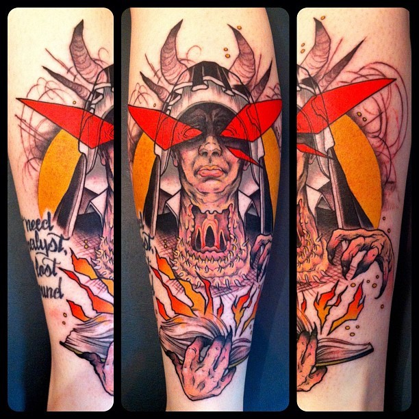 unbelievably stoked on this. DEMON NUN. get some. mike moses www.thedrowntown.com (Taken with Instagram)