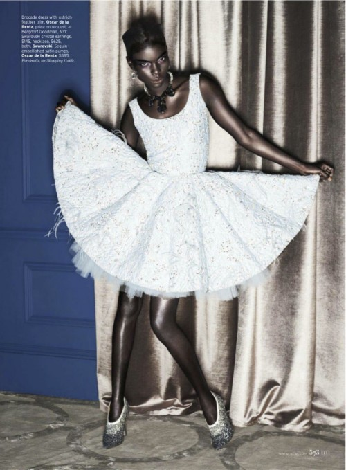 devoutfashion:  Jeneil Williams For Elle September 2012
