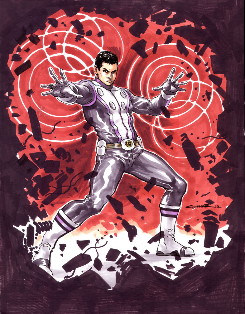 WOW!! Incredible Cosmic Boy commission by Yildiray Cinar!!