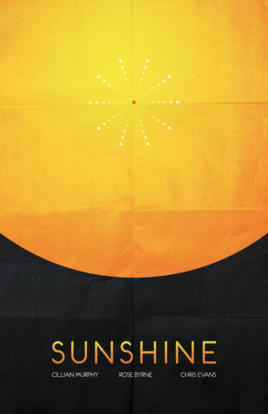 minimalmovieposters:  Sunshine by Peter Lawrence