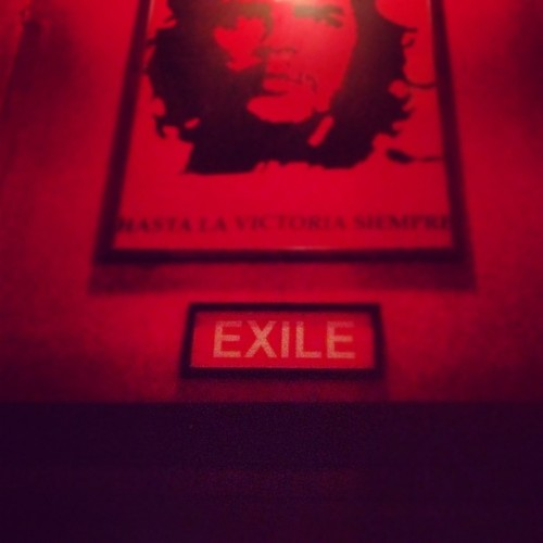 There's only one way out of communism. #boston #bar  (Taken with Instagram)