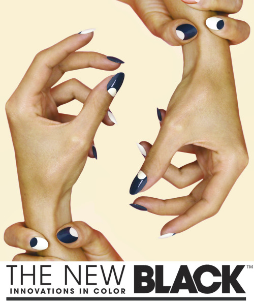 Madeline Poole ( @mpnails ) collaboration with The New Black - kits available this Friday on www.Sephora.com