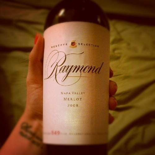 Of course Ray would buy this wine. (Taken with Instagram)