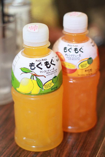 ilikeasianfood:  mogu mogu drinks by wackybecks on Flickr.