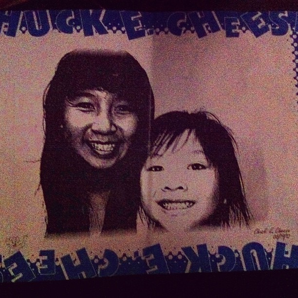Toook my sister to chucke cheeseee ! :) (Taken with Instagram)