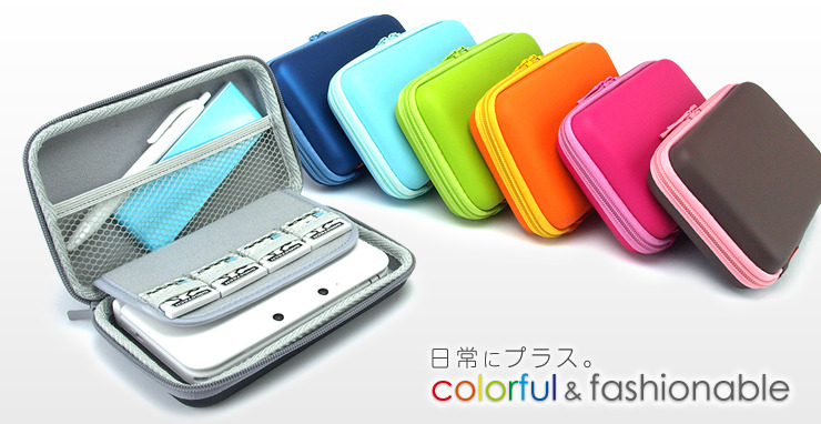 3DS LL Semi-Hard Pouch by Gametech, part of the +Palette line. My favorite 3DS case (to look at) is now available for 3DS LL/XL. Not quite in America yet, at least not that I've found, but now you have a great option if you just bought a new 3DS XL and want … to wait an indeterminate period of time for just the right case! Buy: Nintendo 3DS XL Red or Blue, Nintendo 3DS See also: More Nintendo 3DS XL videos and photos
