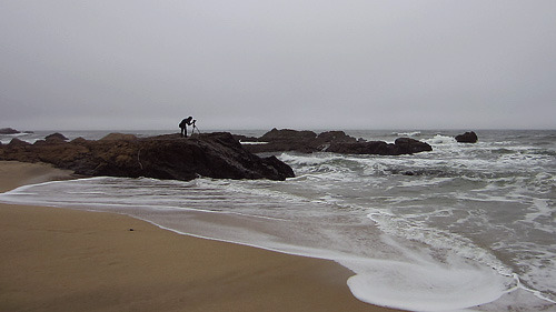 In My Element A picture of me doing my thing in Half Moon Bay, CA.