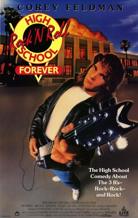"Rock n Roll High School Forever (1991) Starring Corey Feldman - Tagline "" The high school comedy about the 3 R's—Rock—Rock—and Rock!"". For more teen movies visit http://www.hollywoodteenmovies.com"