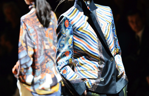 Dries Van Noten by Garance Dore