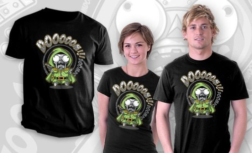 Doomdoomdoom by AtomicRocket - Sold on August 20th at http://teefury.com  For a larger view, click here: http://bit.ly/PxAX2d http://on.fb.me/P8gK0L
