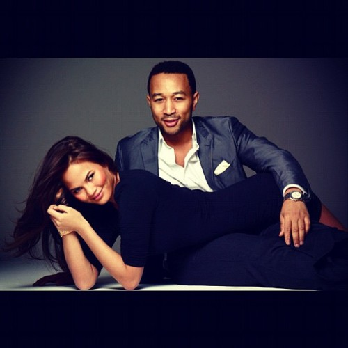 Obsessed with this beautiful couple. ❤ @chrissy_teigen @johnlegend  (Taken with Instagram)