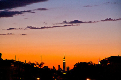 Skyline Sunset on Flickr.