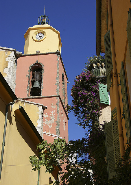 | ♕ |  Belfry of St-Tropez - Cote-d'Azur, France  | by © Claudia