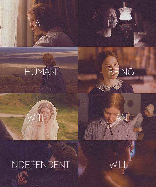 "fangirl challenge [10 female characters] jane eyre, ""jane eyre"" ♠ i have as much soul as you and full as much heart."