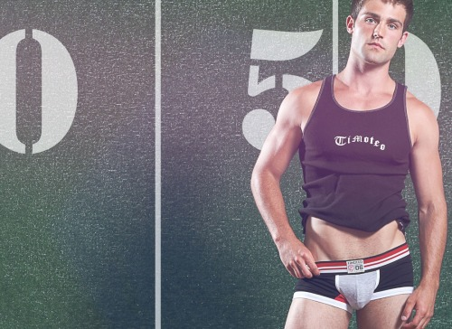 "mancrushoftheday:  ""Athletic Attitude"" 