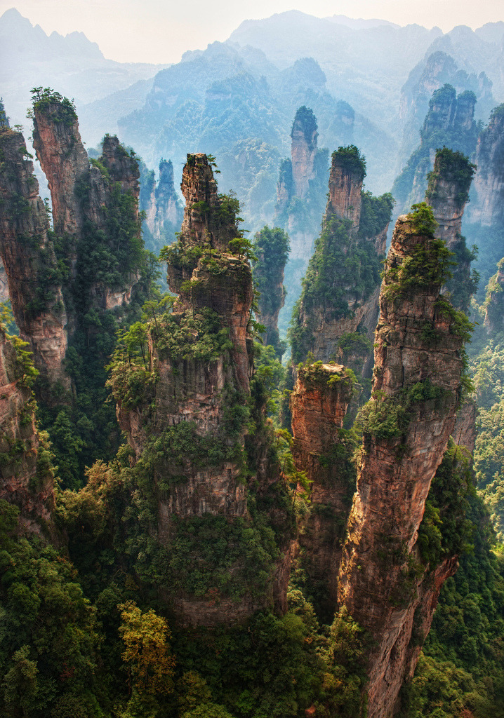 cornersoftheworld:  Pandora from Avatar Zhangjiajie, China(by Stuck in Customs)
