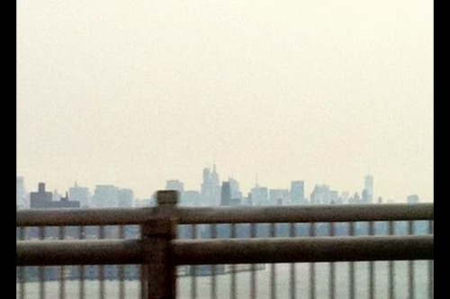 distopolis:  My first glimpse of new york!