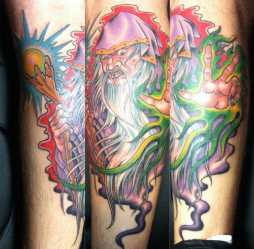 My wizard is finished! Done by Josh Carter.