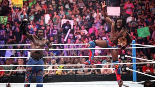 R-Truth and Kofi Kingston retain the WWE Tag Team Championships at SummerSlam: August 19, 2012 Surprised the Prime Time Players lost tonight although I shouldn't be. Blame A.W.
