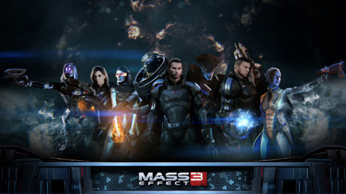"I've written about playing the Mass Effect series on my blog before but here we go again. I just finished replaying both Mass Effect 2 and 3 and even without playing multiplayer I was able to get the ""synthesized"" ending. It was so nice to finally see the end of the series come together the way it should. (Bonus scenes are much appreciated Bioware!) Mass Effect is such a beautiful game series because it is so much more than that. It tells a story so real and the characters are not one dimensional, typical video game characters, they act like genuine people. I honestly think if it was a movie it would reach an even broader audience that deserve to watch this amazing story unfold. Just can't get enough of it. <3"
