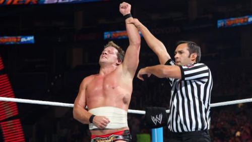 Chris Jericho defeats Dolph Ziggler at SummerSlam: August 19, 2012 If tonight was Chris Jericho's last night in WWE (for now due his Fozzy tour) then Y2J went out on top, making Dolph Ziggler tap out to the Walls of Jericho. And he did it all despite his DDP tribute of taped up ribs.