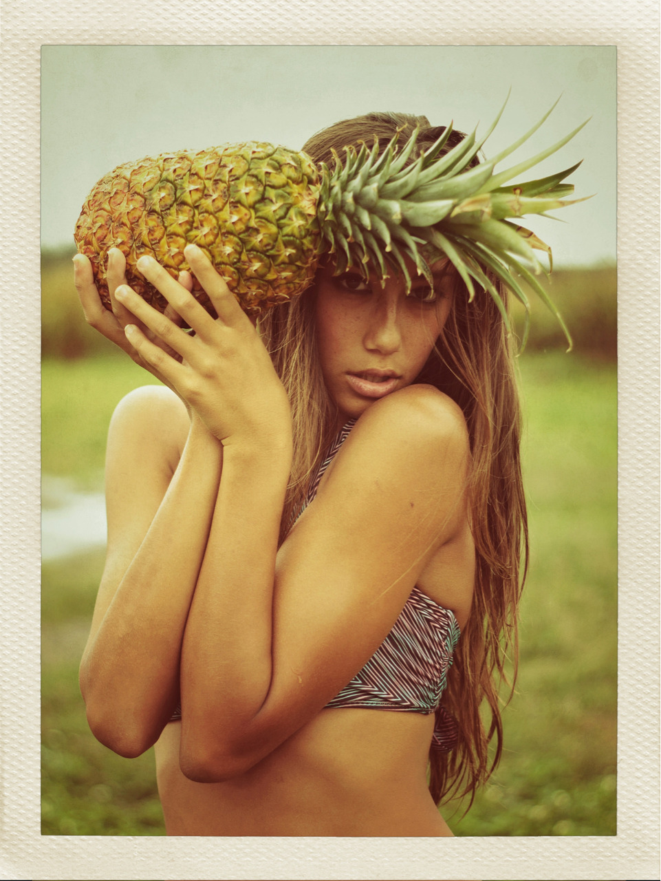 "brooklynhawaii:  Shots that didn't make it into the mag. Malia for Contrast Magazine 2012 ""Up North"""