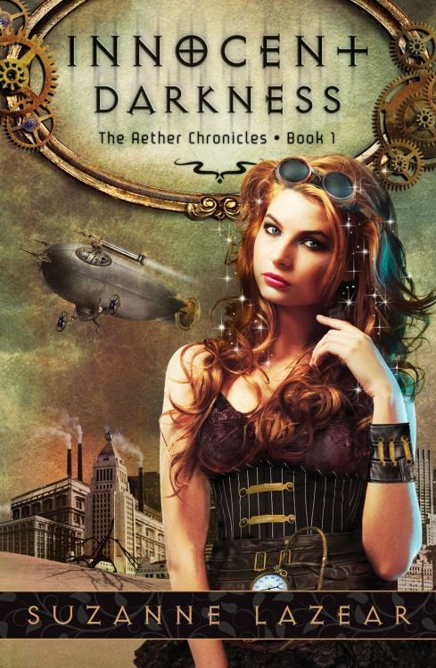 steampunktrunk:  Read a blog post about writing Steampunk fiction by the author of Innocent Darkness, Suzanne Lazear here.
