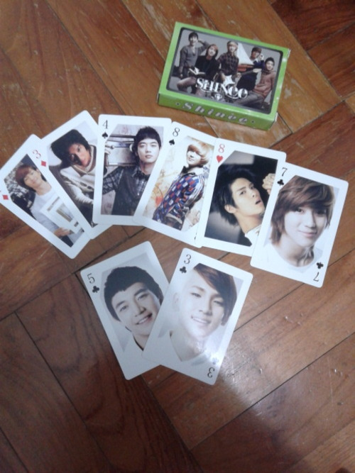 SHINEE POKER CARDSinfo:new Swap:no price:$4 shipping:$1 Location:Singapore preferred, international ok contact:jennaoy@gmail.com