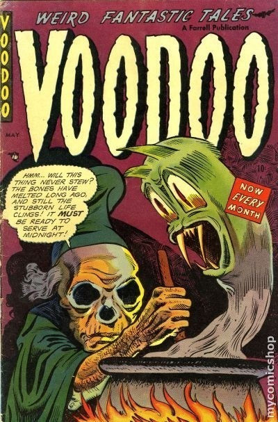 Voodoo #9 Published June 1953 by Ajax