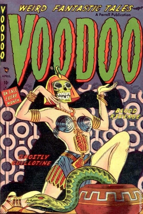 Voodoo #8 Published April 1953 by Ajax