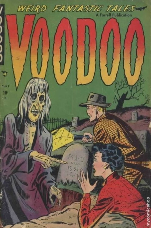 Voodoo #1 - Published May 1952 by Ajax