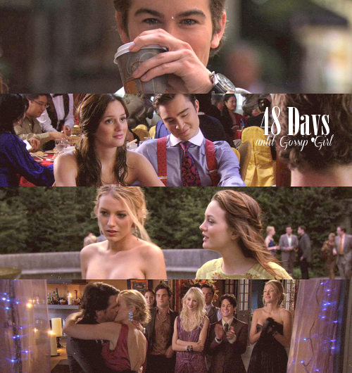 "48 Days until Gossip Girl (October 8th) —» Episode 48 was 3x05 - ""Rufus Getting Married"""
