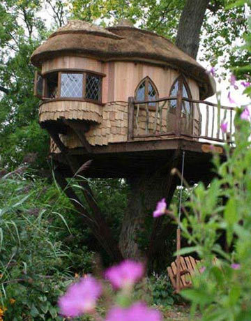 i always wanted a treehouse lol
