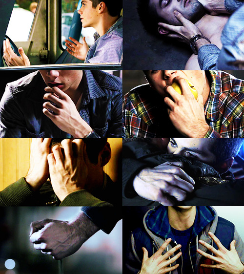 Appreciation post → Stiles'/Dylan's Hands